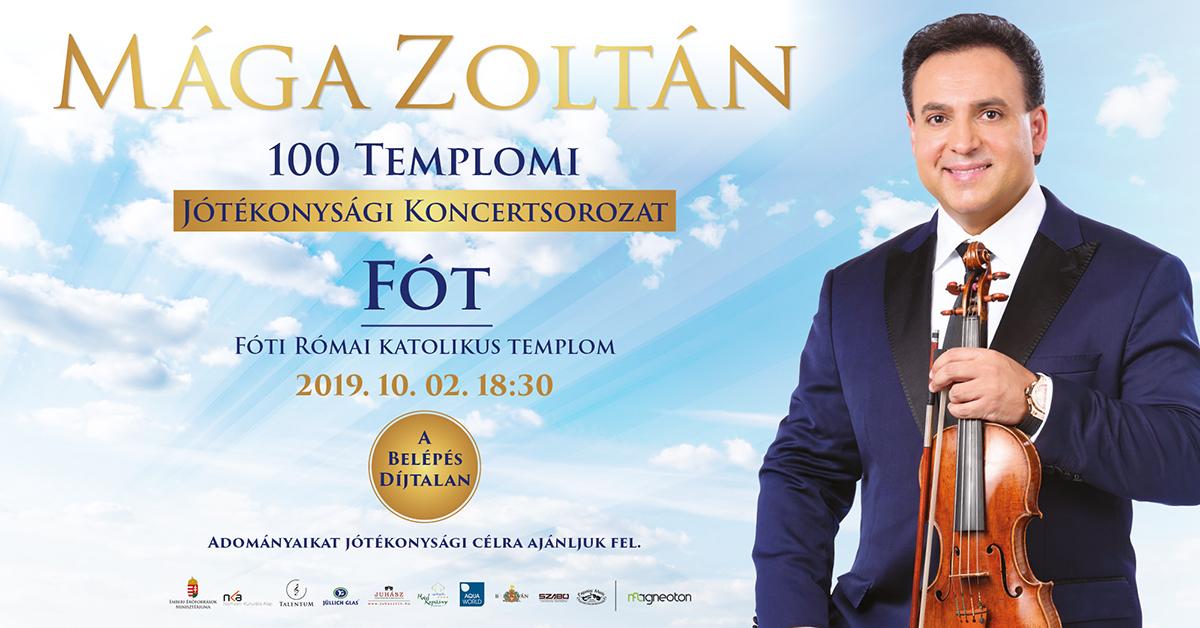 Mága Zoltán fóti koncertje