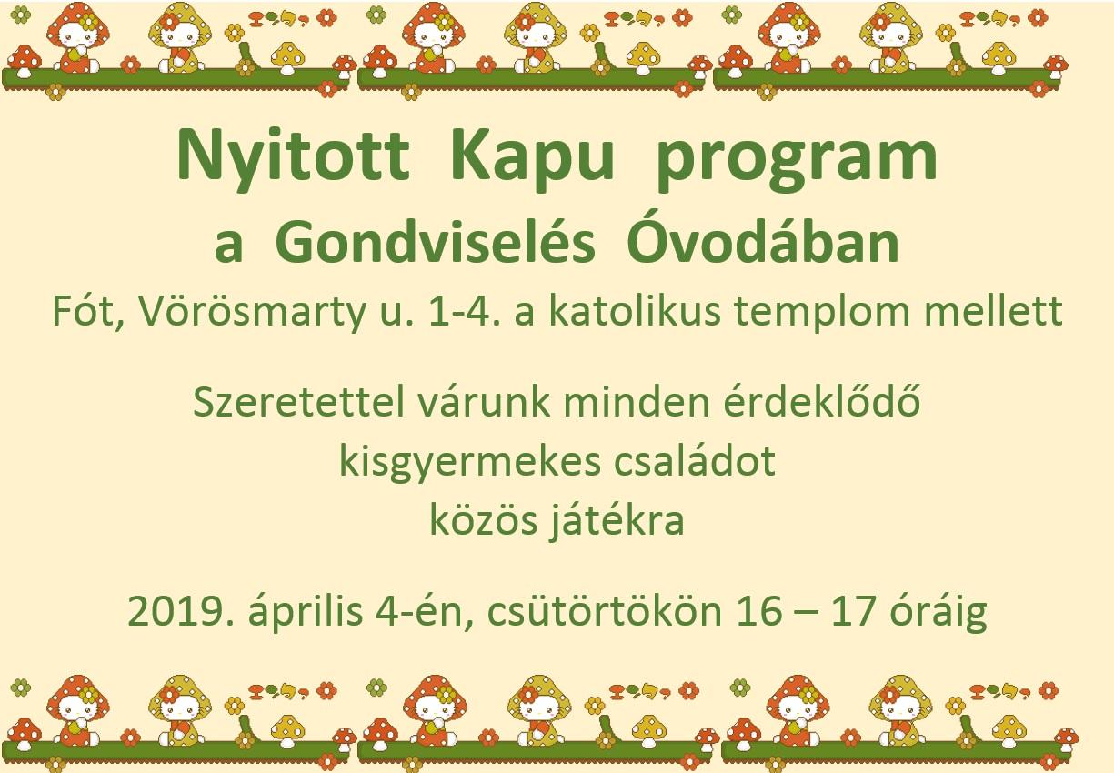 Nyitott Kapu program